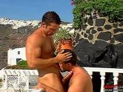Dude with Curved Cock Clip # 2